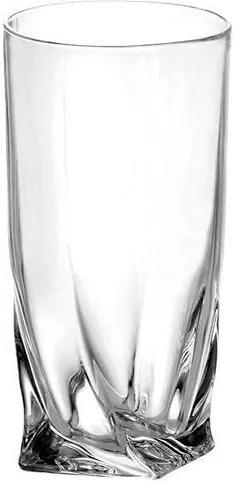 Bohemia Crystal Poháre na nealko nápoje a vodu Quadro 2K936/0/99A44/35