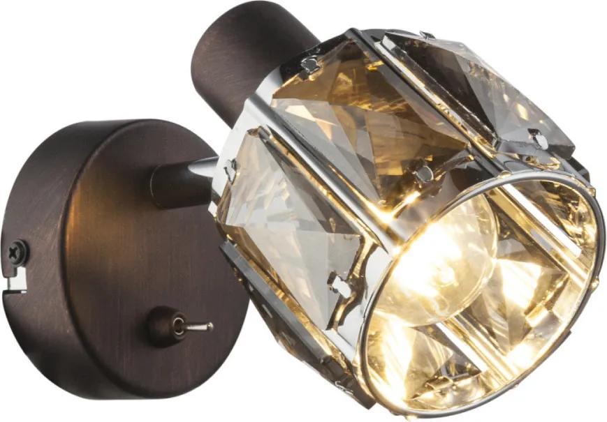 Globo 54357-1 Nástenné Lampy INDIANA bronz kov 1 x E14 max. 40W IP20