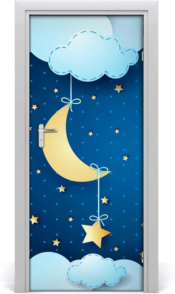 Samolepící fototapeta na dveře Noc