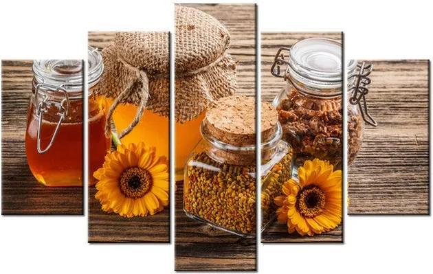 Tlačený obraz Včelí med 100x63cm 1205A_5D