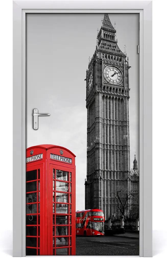 Fototapeta samolepící na dveře Big ben londýn
