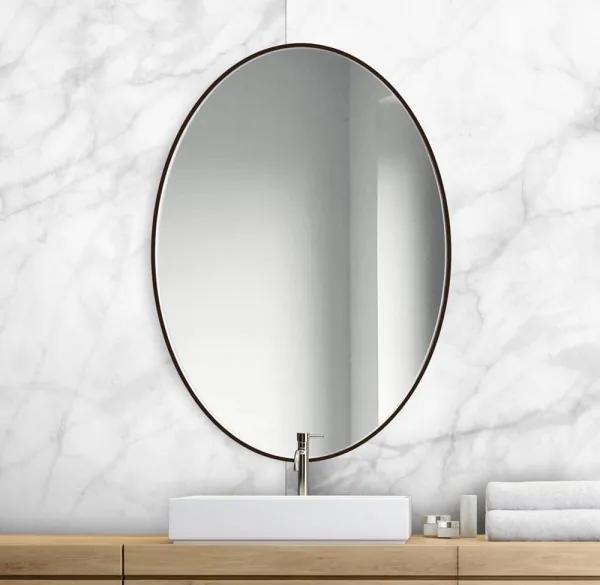 Zrkadlo Etta slim owal black z-etta-slim-owal-black-2898 zrcadla