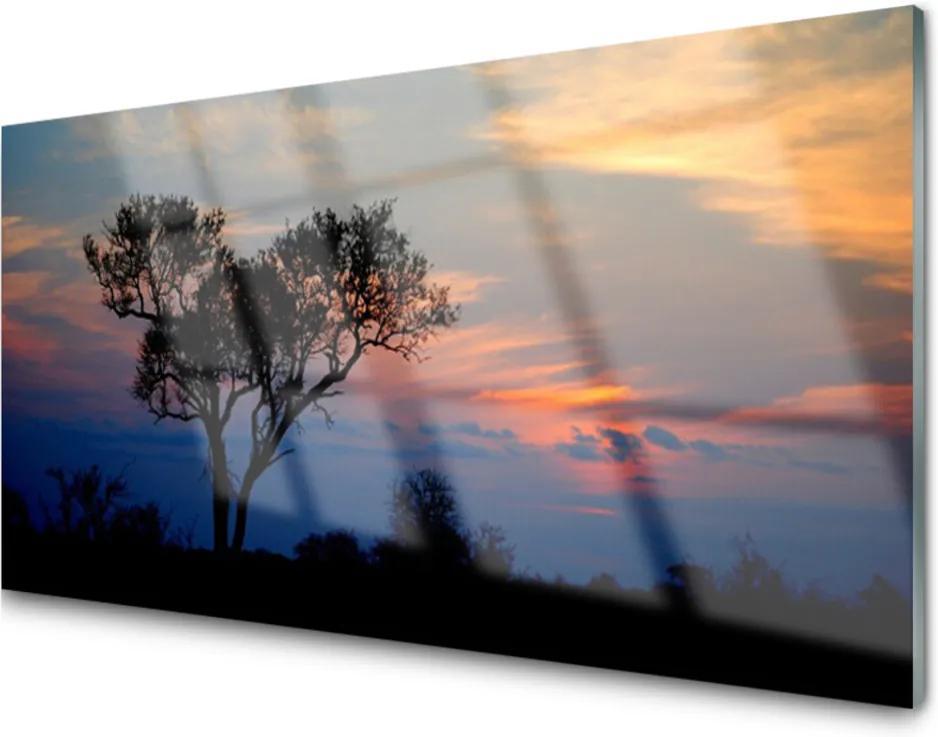 Obraz na skle Skleněný strom příroda