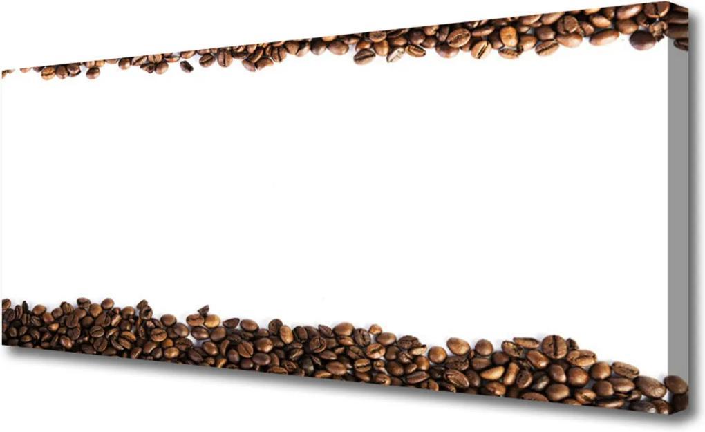 Obraz Canvas Káva zrnka kuchyně