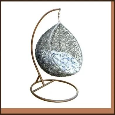 Závesné kreslo vajíčko COCOON 223131 sivá