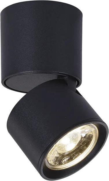 ACA DECOR Nástenné bodové svietidlo Krypton Black 5W/3000K/400LM