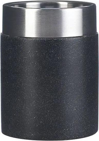 Stone 22010110 pohár na postavenie, čierny