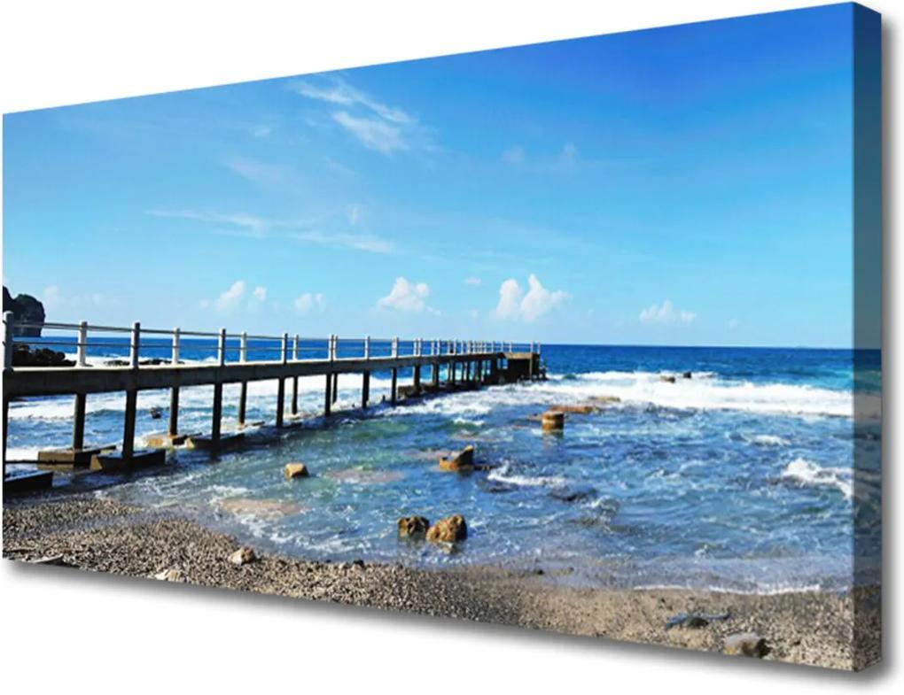 Obraz na plátně Oceán Pláž Príroda