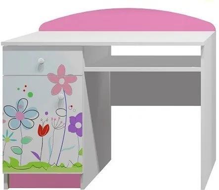 MAXMAX Písací stôl FAREBNÁ LÚKA - TYP A