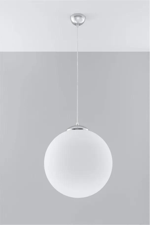 Biele stropné svetlo Nice Lamps Bianco 40