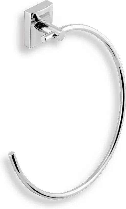 Novaservis Metalia 12 0201,0 kruhový držiak uterákov