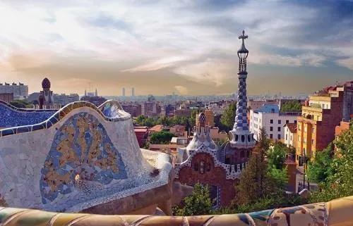 Luxusné vliesové fototapety, rozmer 418,5 cm x 270 cm, Barcelona, P+S International CL07A