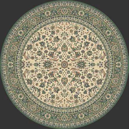 Lano luxusní orientální koberce Kusový koberec Kasbah 13720-416 kruh - 170x170 kruh cm