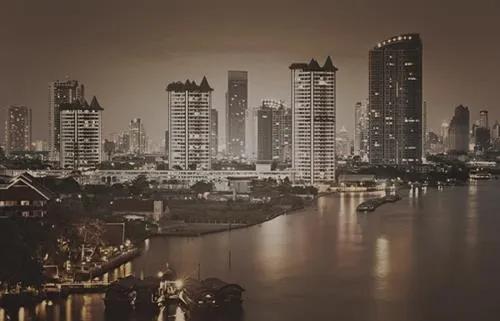 Luxusné vliesové fototapety, rozmer 418,5 cm x 270 cm, Bangkok, P+S International CL87C