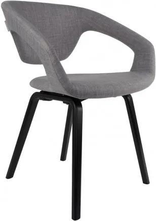 Židle/křeslo Flex Back black/grey Zuiver 1200127