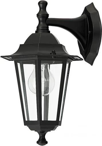 Rábalux 8202 Vonkajšie Nástenné Lampy čierny E27 1x MAX 60W 350 mm