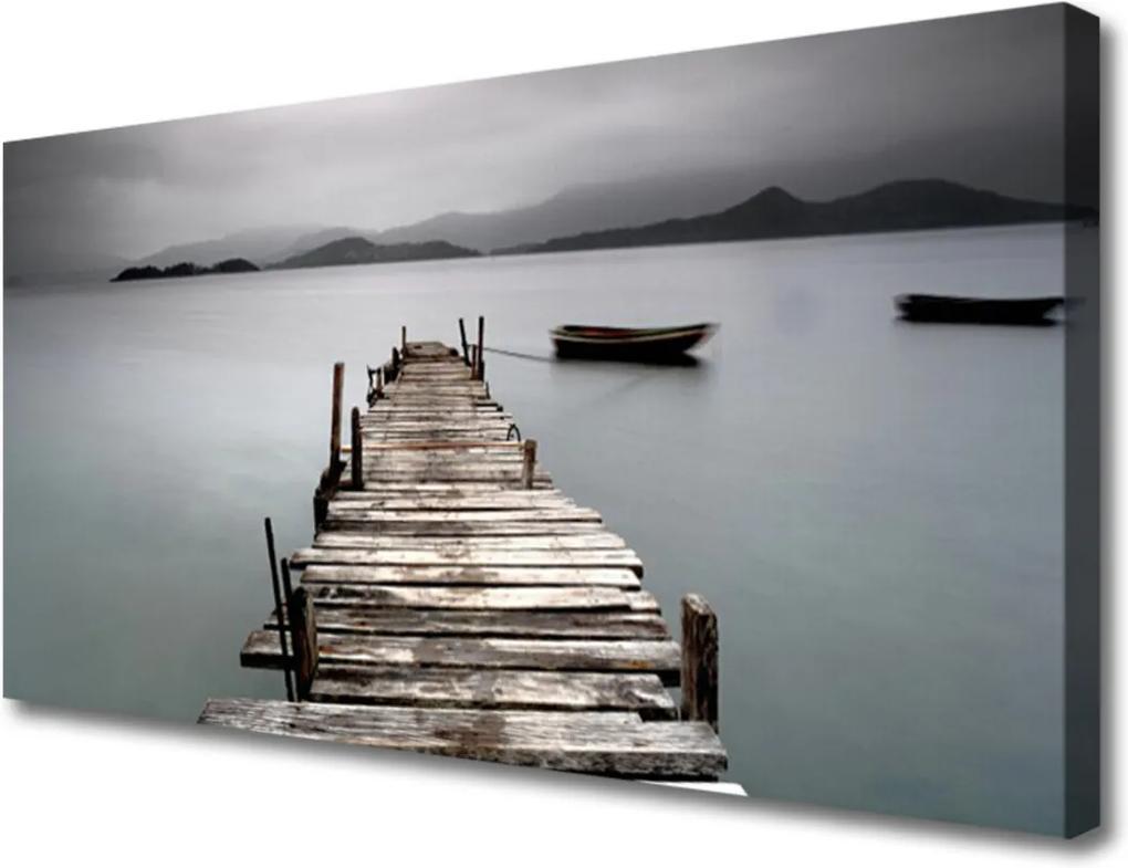 Obraz Canvas Most moře architektura