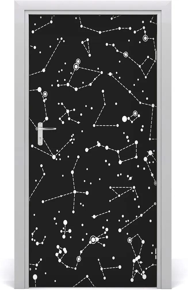 Fototapeta samolepiace na dvere  hviezdokopa