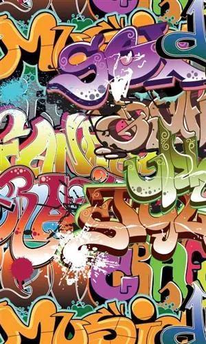 Vliesové fototapety, rozmer 150 cm x 250 cm, graffiti, DIMEX MS-2-0322