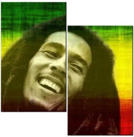 Tlačený obraz Bob Marley 60x60cm 1166A_2A