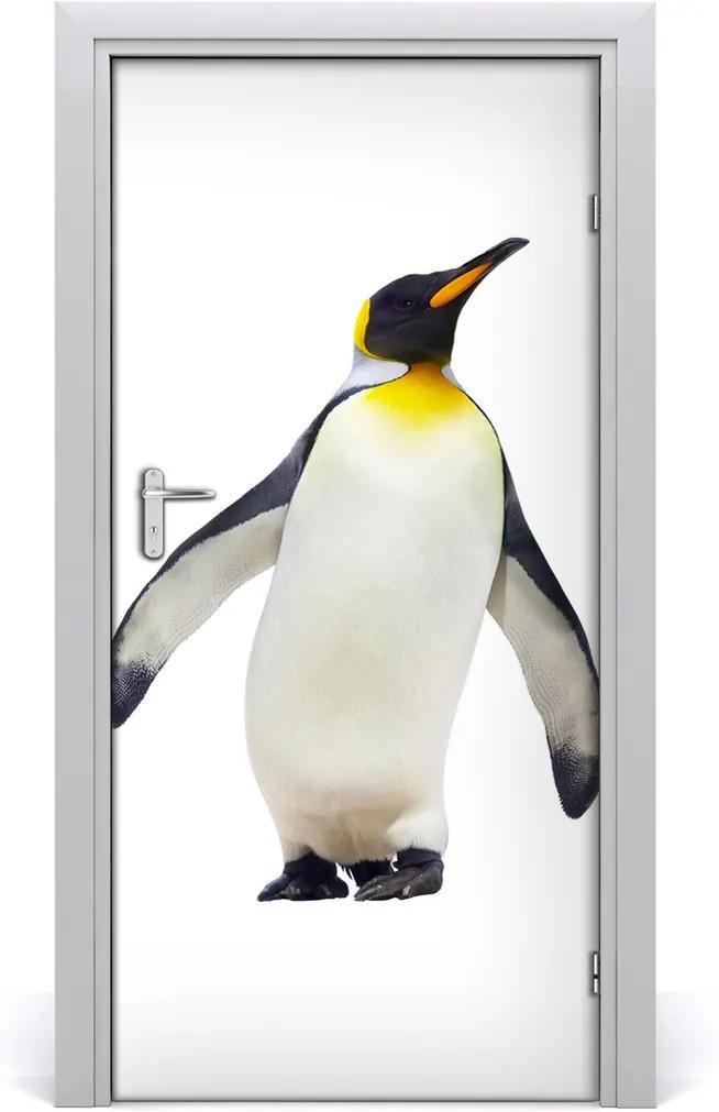 Samolepící fototapeta na dveře Tučňák