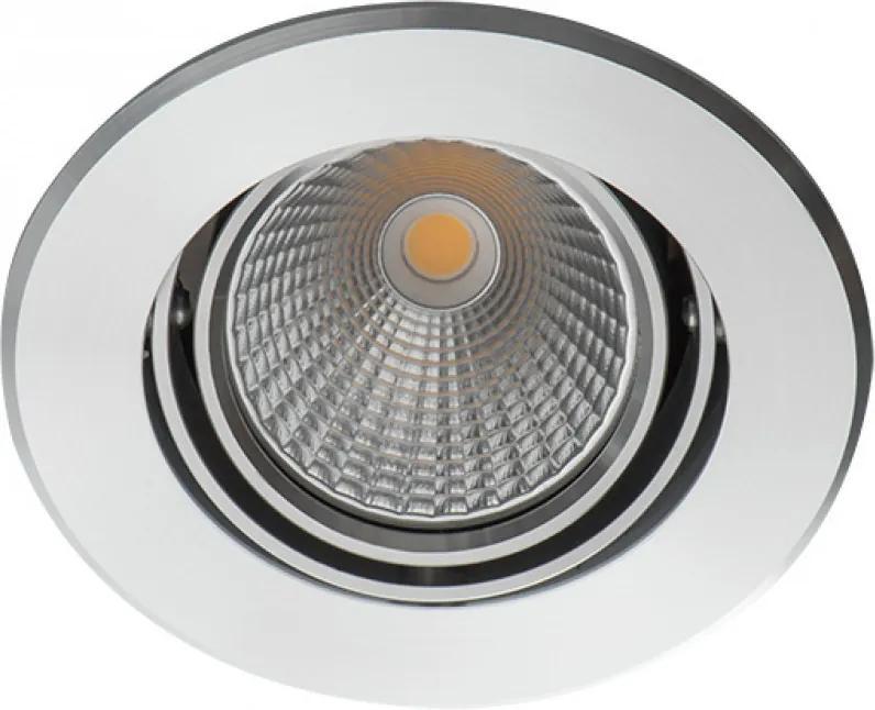 Kanlux 23760 Zápustné Bodové Svetlá Solim strieborný hliník LED - 1 x 3,5W 260lm 3000K IP20
