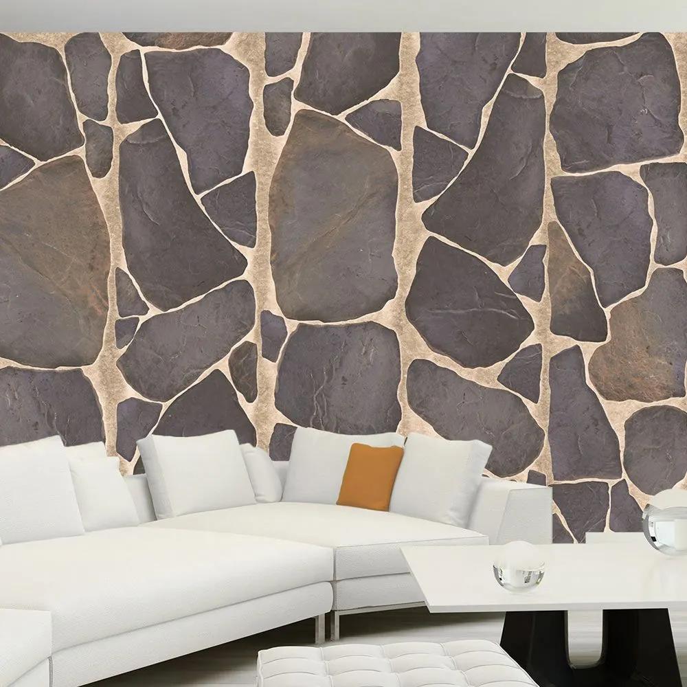 Fototapeta - Rock mosaic 50x1000
