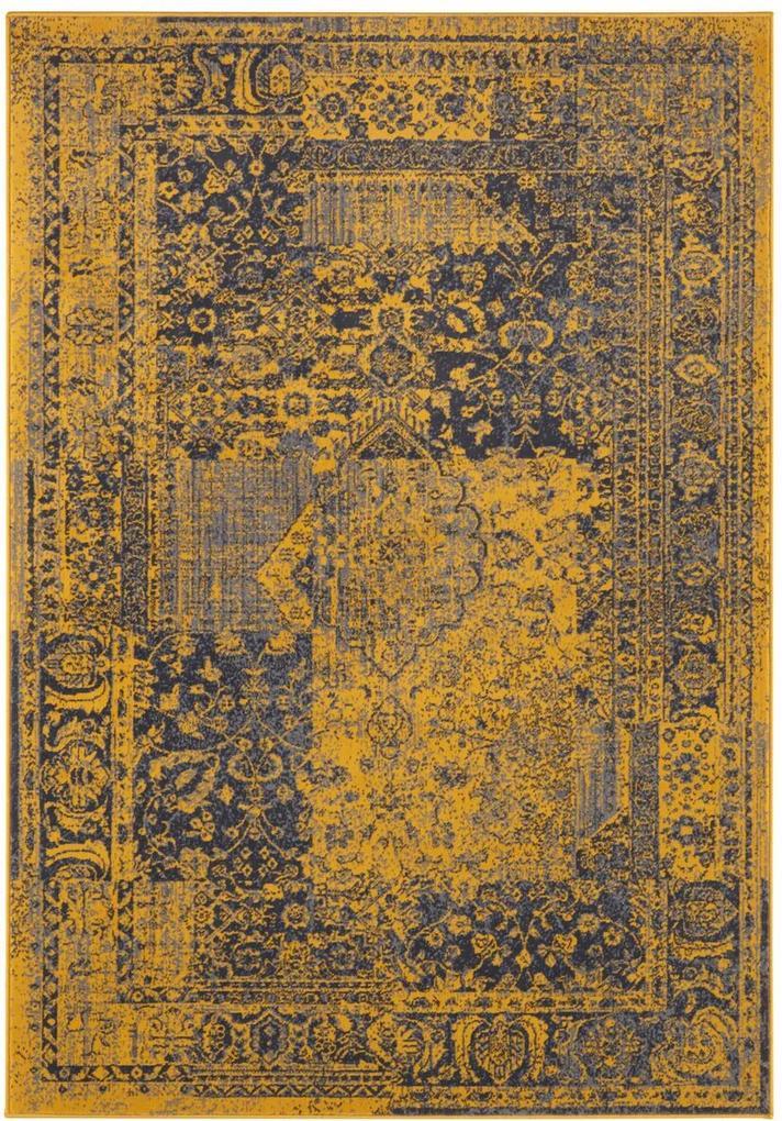 Hanse Home Collection koberce Kusový koberec Celebration 103470 Plume Gold Grey - 80x150 cm