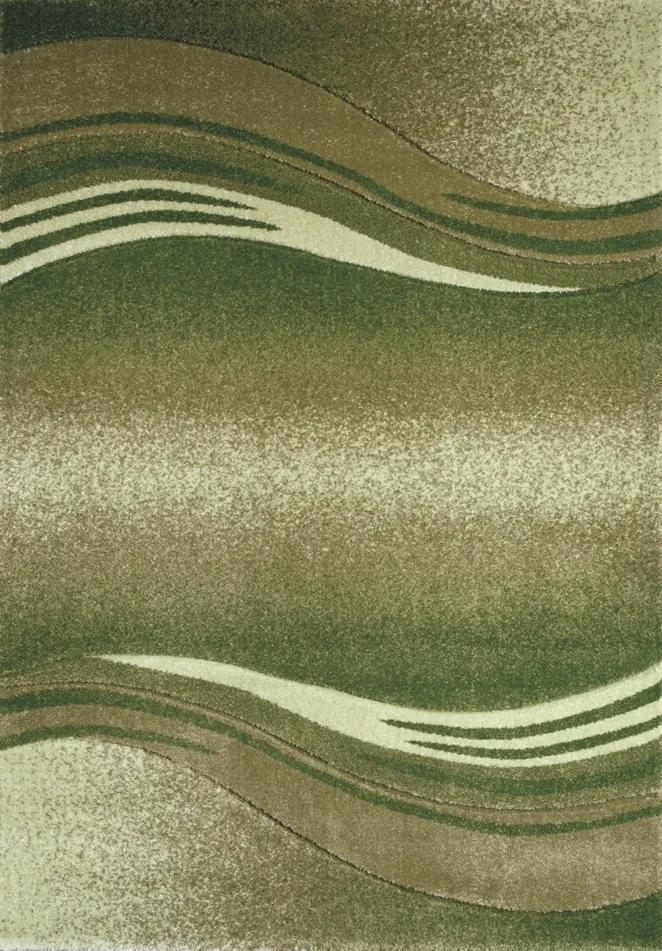 Spoltex koberce Liberec Enigma green 9358 - 80x150 cm