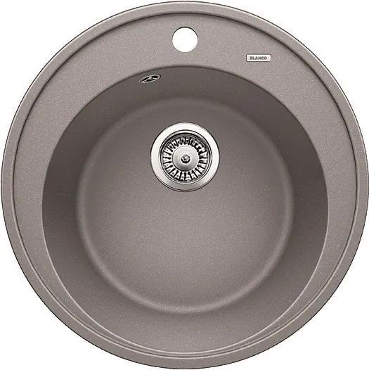 Granitový kuchynský drez - Blanco Ríon 45 aluminium 521397