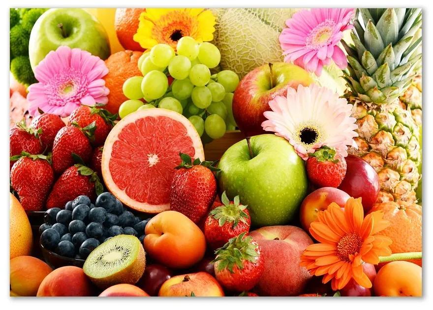 Fotoobraz na skle Farebné ovocie pl-osh-100x70-f-85471836