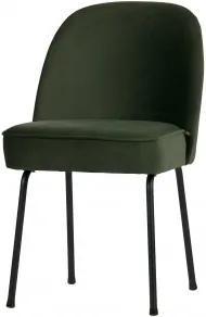 Židle VOUGE ,samet,petrolejově zelená DEEEKHOORN 800816-501