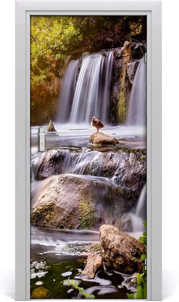 Fototapeta na dveře samolepící Vodopád