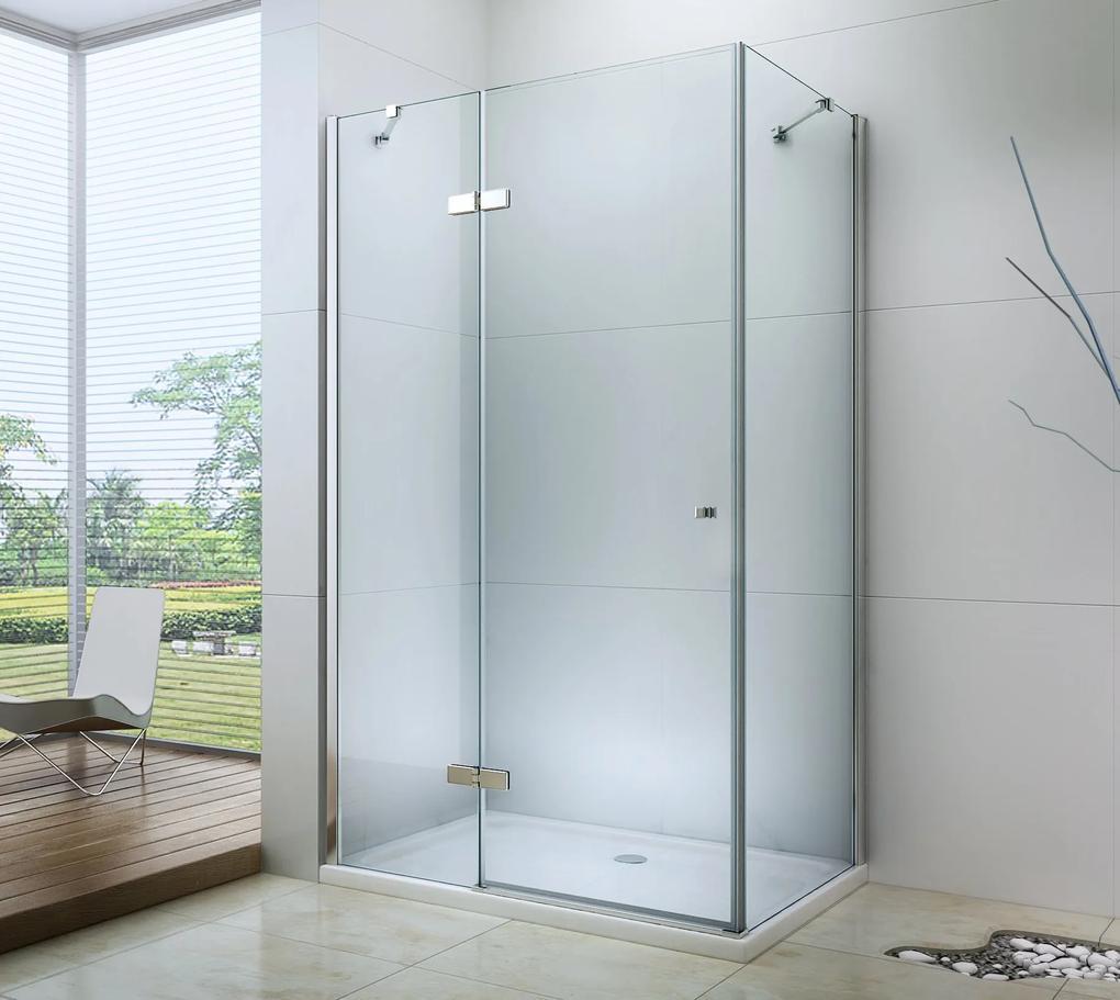 MAXMAX Sprchovací kút RONA 100x80 cm 100 obdélníkový