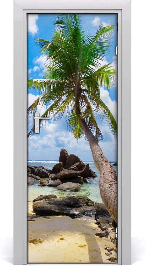 Fototapeta na dveře Tropická pláž