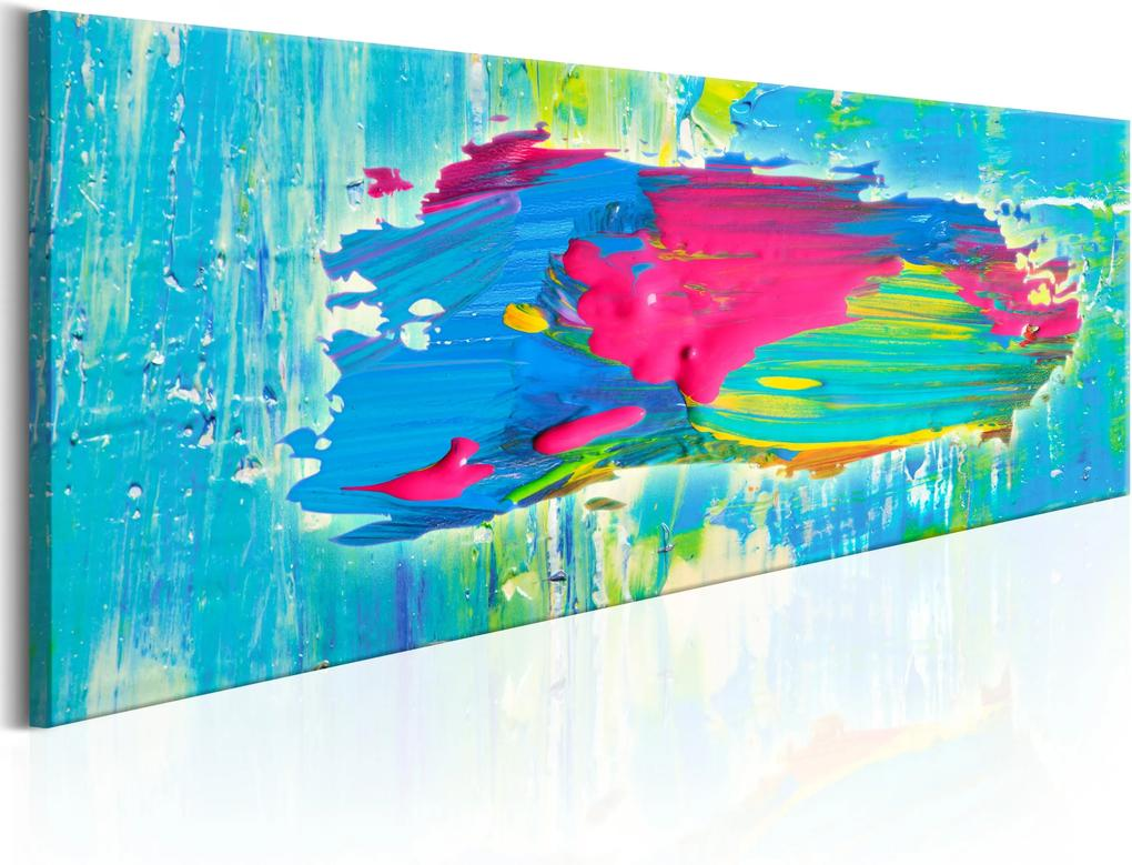 Obraz - Blue Island 120x40