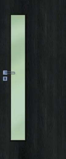 Interiérové dvere Naturel Deca pravé 70 cm brest antracit DECA10JA70P