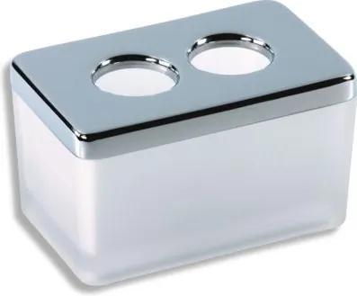 Novaservis Metalia 4 6422,0 dóza na kozmetické tampóny biela
