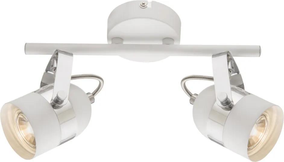 Globo 57353-2 Stropné Svietidlá biely biely LED - 2 x 5W 30 x 14,5 cm