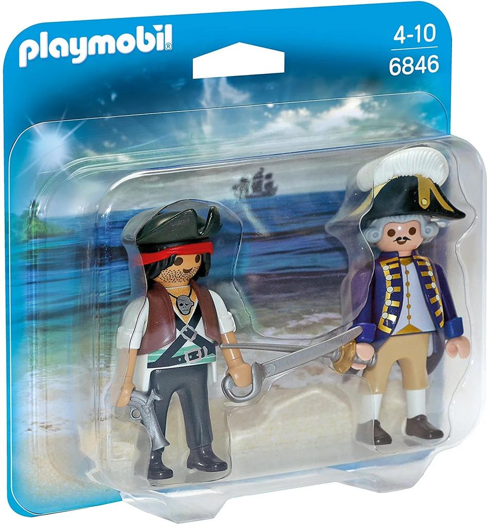Playmobil Duo Pack Pirát a vojak