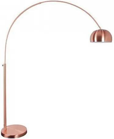 Stojací lampa Metal Bow Copper Zuiver 5100022