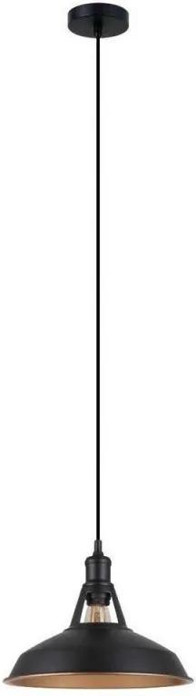 Závesné svietidlo FREYA MDM-23151M BK+GD