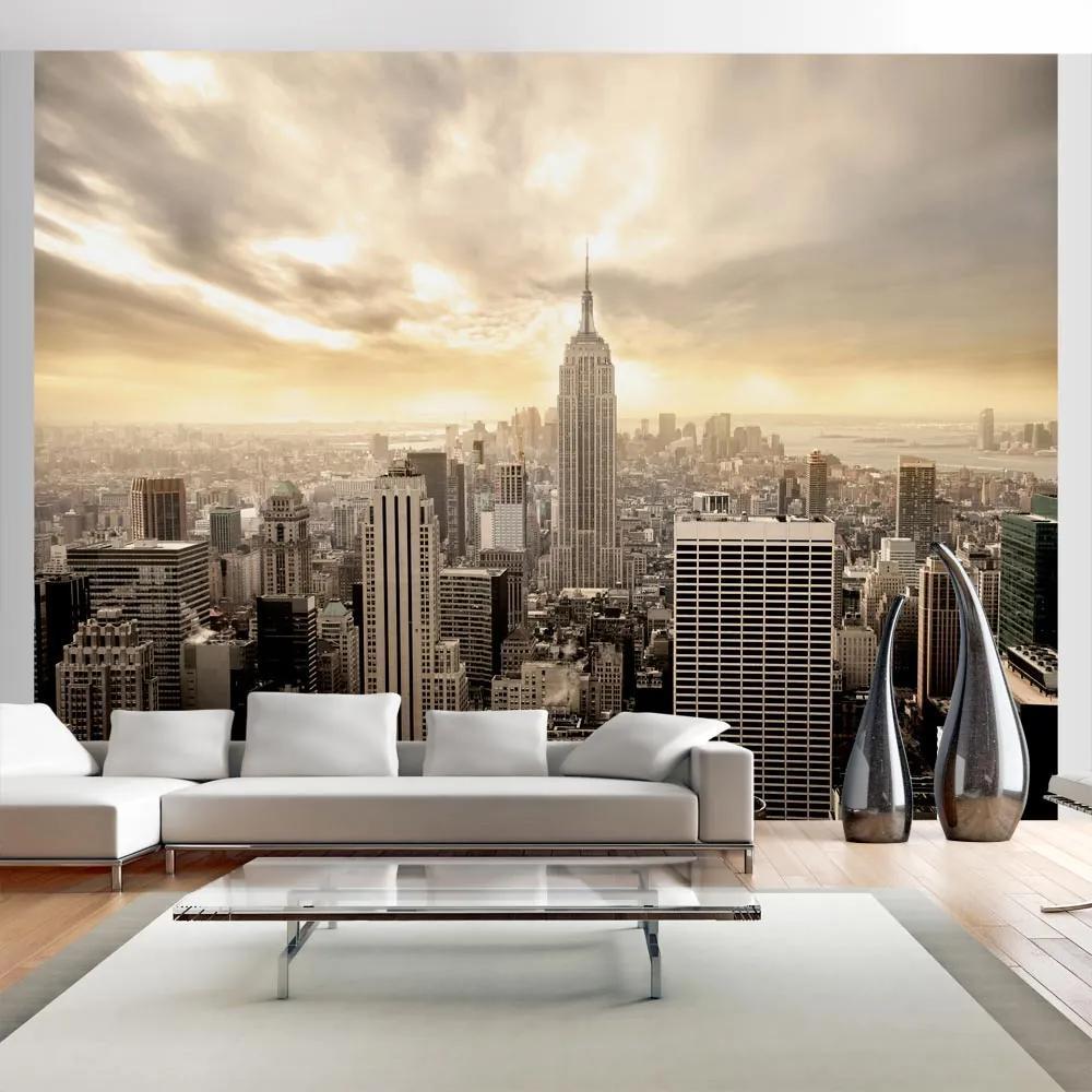 Fototapeta - New York - Manhattan at dawn 200x154