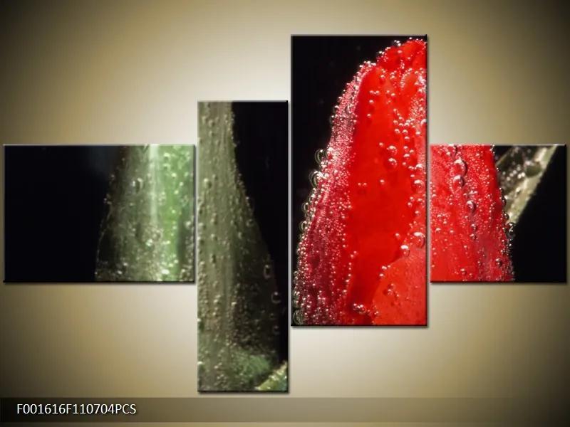 Moderné štvordielne obrazy