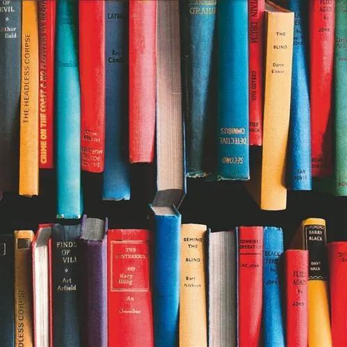 Samolepiace fólie knihy, metráž, šírka 45cm, návin 15m, GEKKOFIX 11773, samolepiace tapety