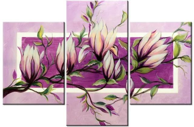 Tlačený obraz Sladké magnólie 90x60cm 1511A_3B