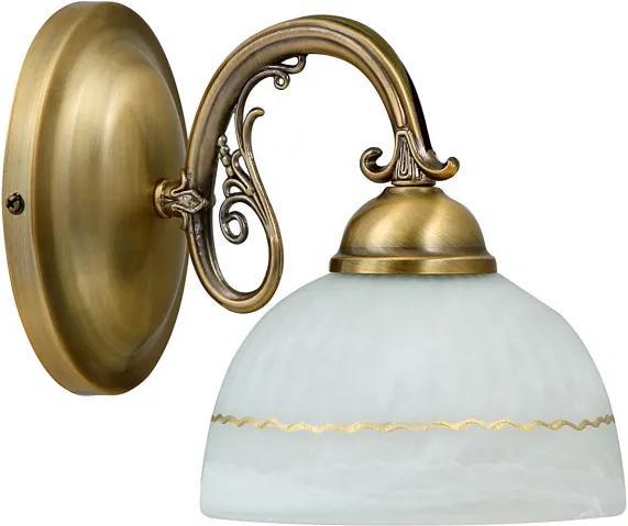 Rábalux 8811 Nástenné Lampy Flossi bronz kov E27 1x MAX 40W IP20
