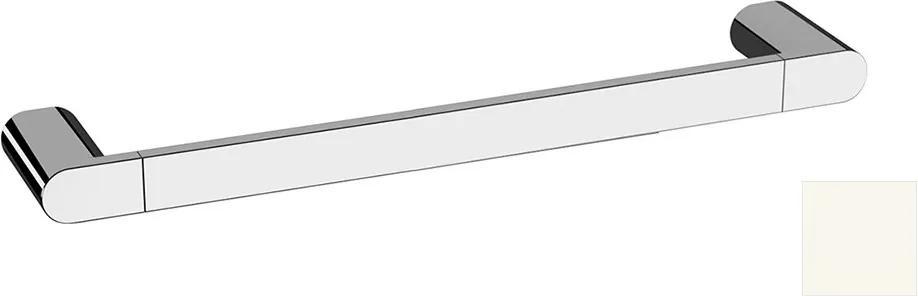 Flori RF010/14 držiak uterákov 400x70mm, biely matný