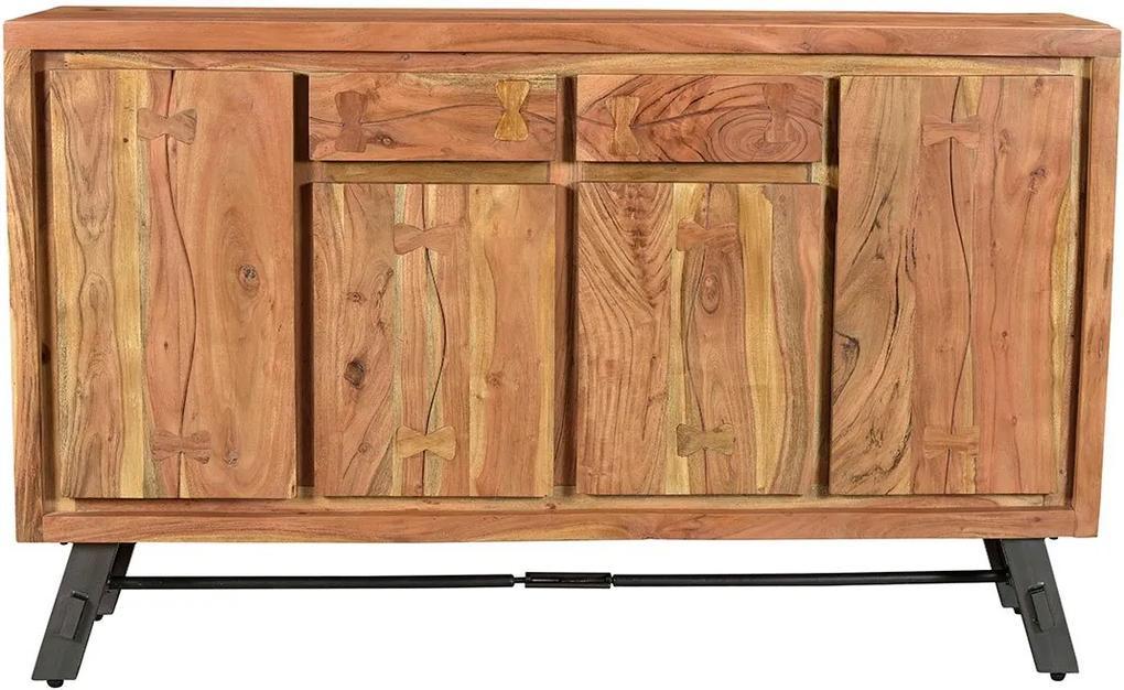 SIT MÖBEL Komoda EDGE 150 × 38 × 90 cm