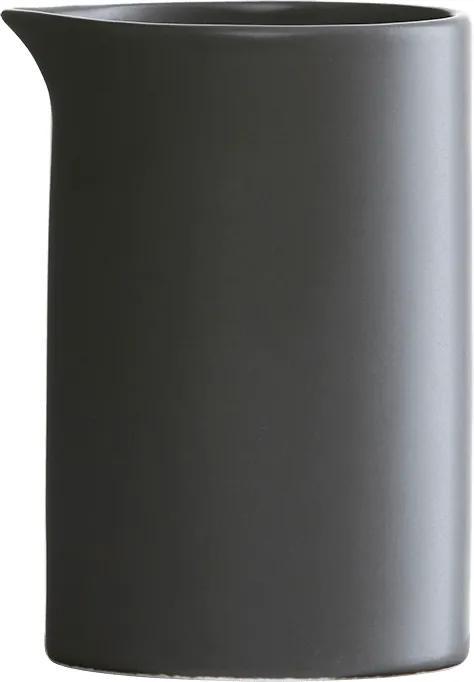 HOUSE DOCTOR Sada 2 ks − Čierna kanvice na mlieko Pot